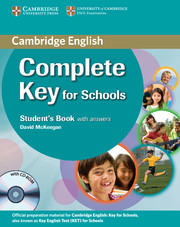 Complete Key for Schools