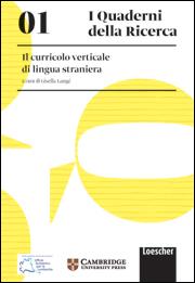 01. Il curricolo verticale di lingua straniera