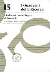 15. L'italiano L1 come lingua dello studio
