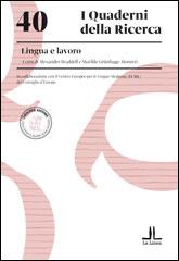 40. Lingua e lavoro