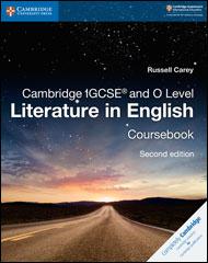 Cambridge IGCSE and O Level: Literature in English