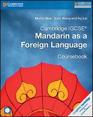 Cambridge IGCSE Mandarin as a Foreign Language