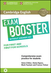 Exam Booster First and First for Schools