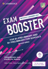 Exam Booster Preliminary and Preliminary for Schools