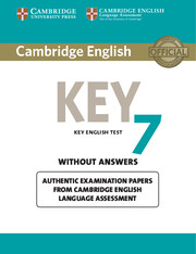 Cambridge English Key 7