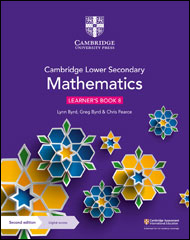 Cambridge Lower Secondary Mathematics<br />Stages 7-9
