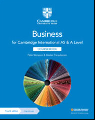 Cambridge International AS & A Level Business