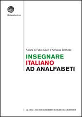 Insegnare italiano ad analfabeti
