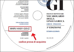 label su CD ROM del Montanari